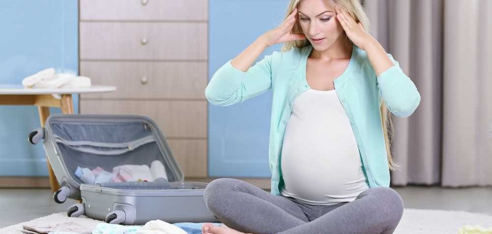Co s sebou do porodnice