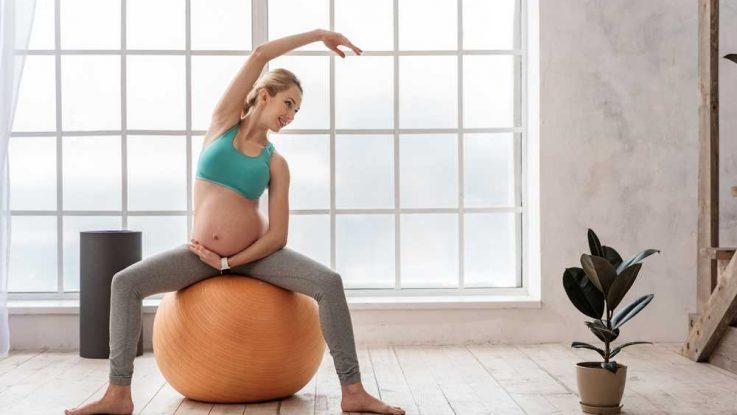 Pilátes pro těhotné