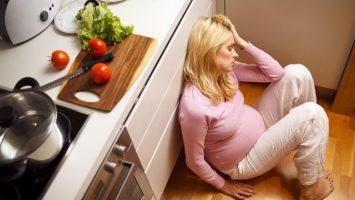 Těhotenská deprese