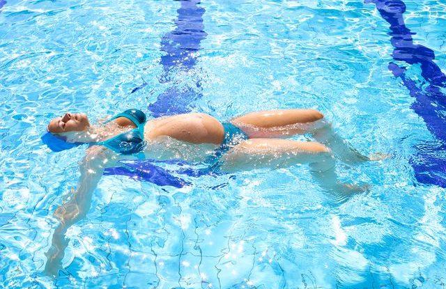 Plavání v těhotenství
