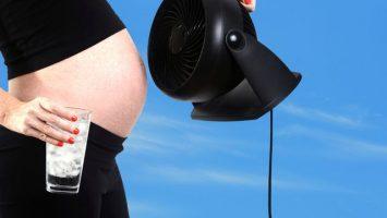 Jak dobře spát v létě těhotná