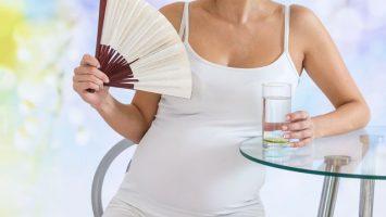 Úpal a úžeh v těhotenství