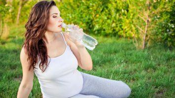 Pitný režim v těhotenství