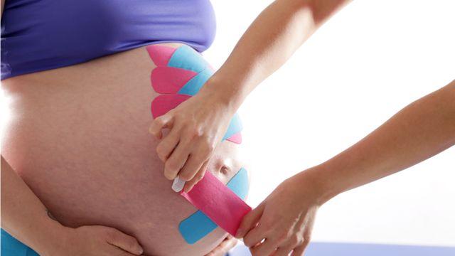 Tejpování v těhotenství