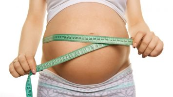 Velikost břicha v těhotenství